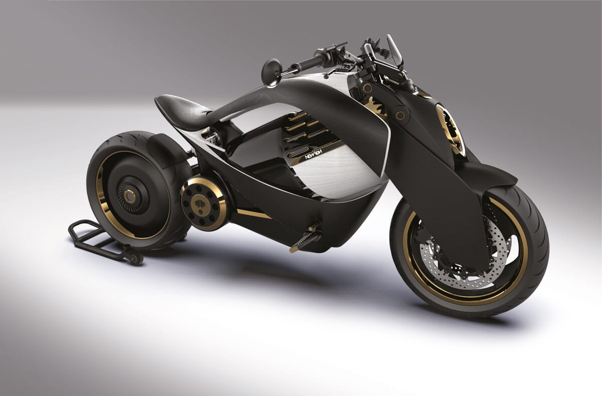 Moto électrique Newron EV-1 made in France